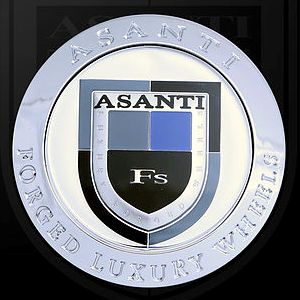 ASANTI LUXURY FORGED WHEEL CENTER CAPS