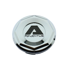 ADVENTUS WHEELS AVS CHROME CENTER CAPS