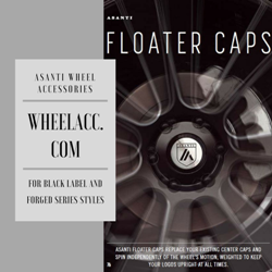 ASANTI FLOATER CAPS
