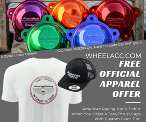 AMERICAN RACING HATS & TEES